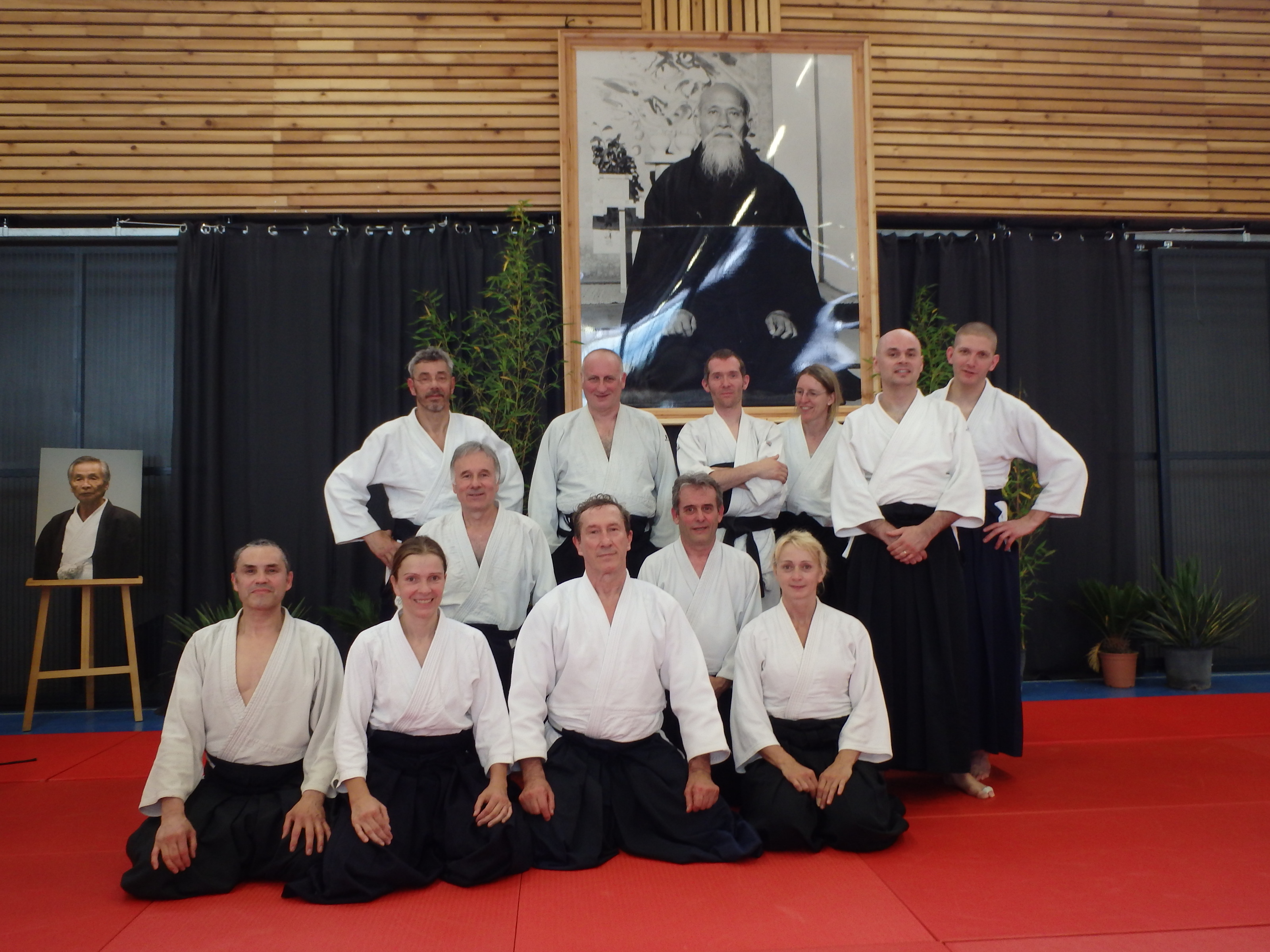 stage du doshu aikido ligue de franche comt ffab. Black Bedroom Furniture Sets. Home Design Ideas